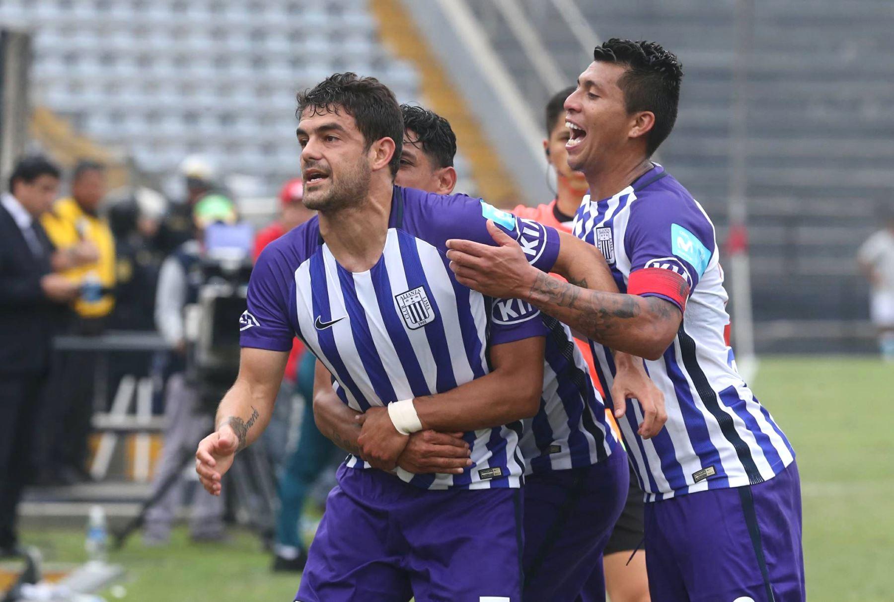 Alianza Lima sumó y sigue en la pelea por el Clausura. Foto: ANDINA/Jhony Laurente