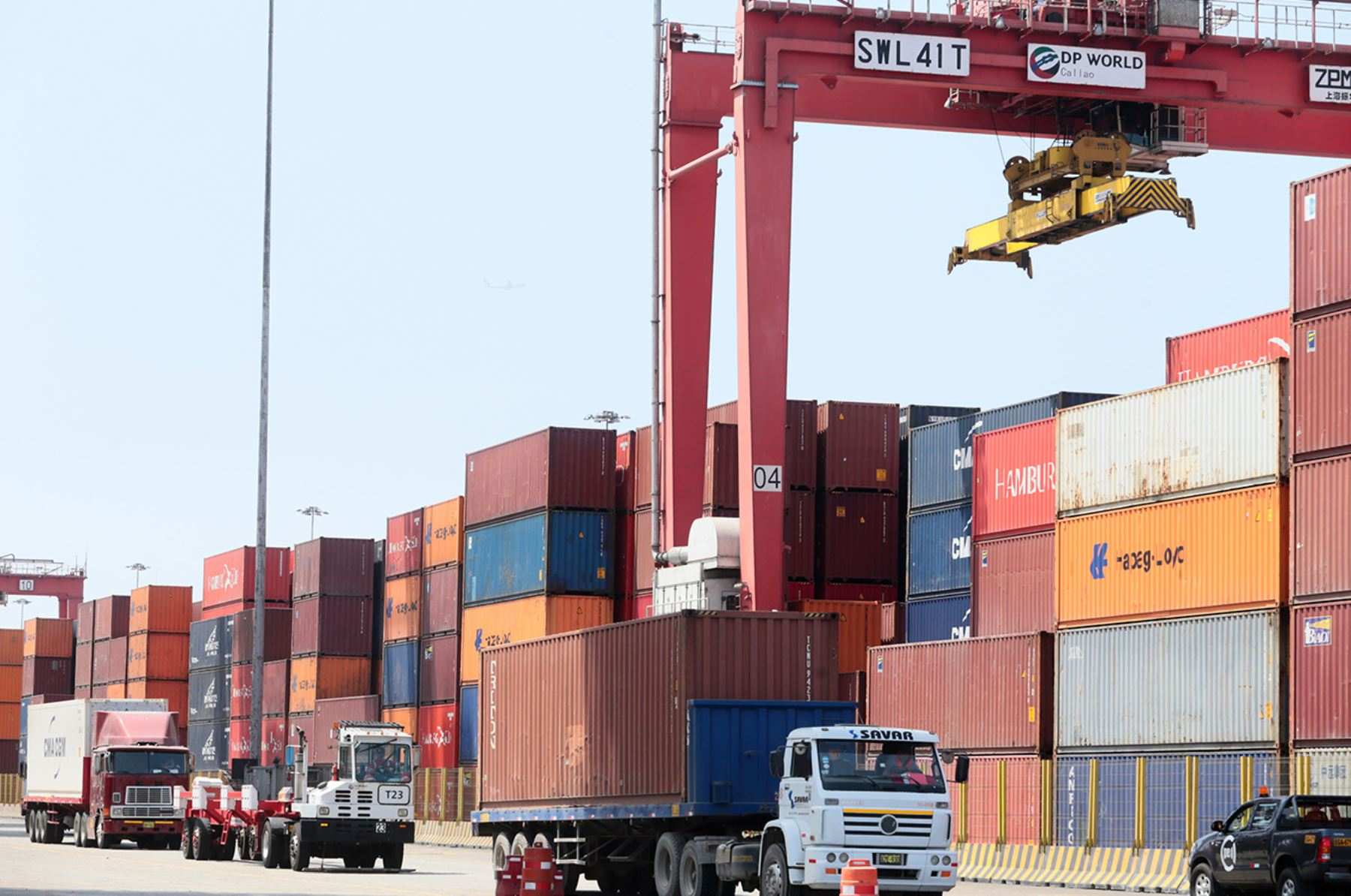 Exportaciones. ANDINA/Difusió