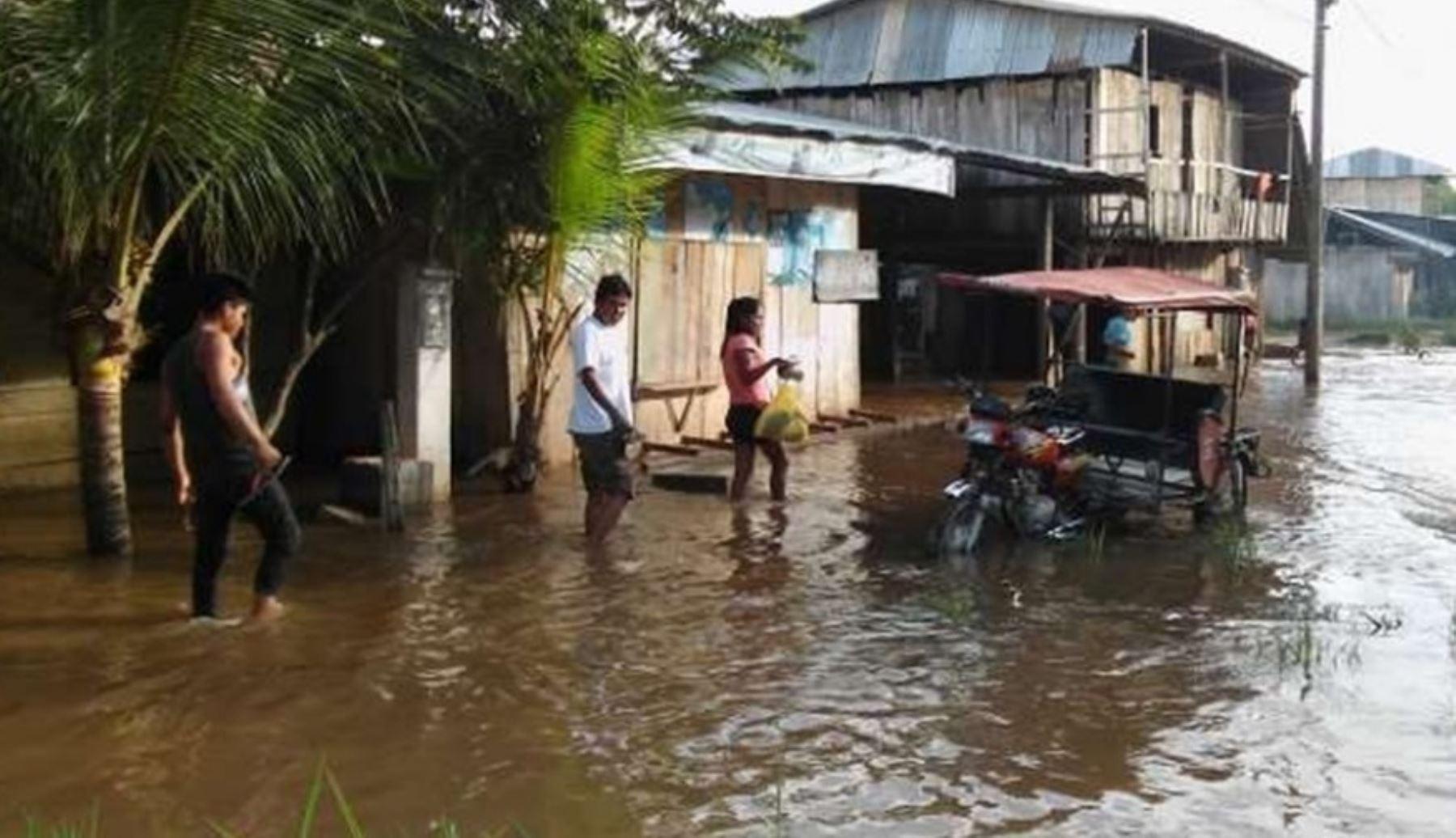 83 provincias soportan lluvias intensas desde esta tarde. ANDINA/Difusión