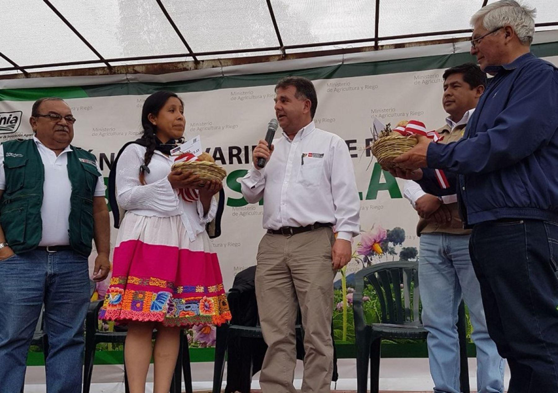 El viceministro de Desarrollo e Infraestructura Agraria y Riego, Jaime Salomón, destacó que además de su valor comercial, tiene un gran valor biológico, pues es resistente a bajas temperaturas de zonas alto andinas y agentes infecciosos.
