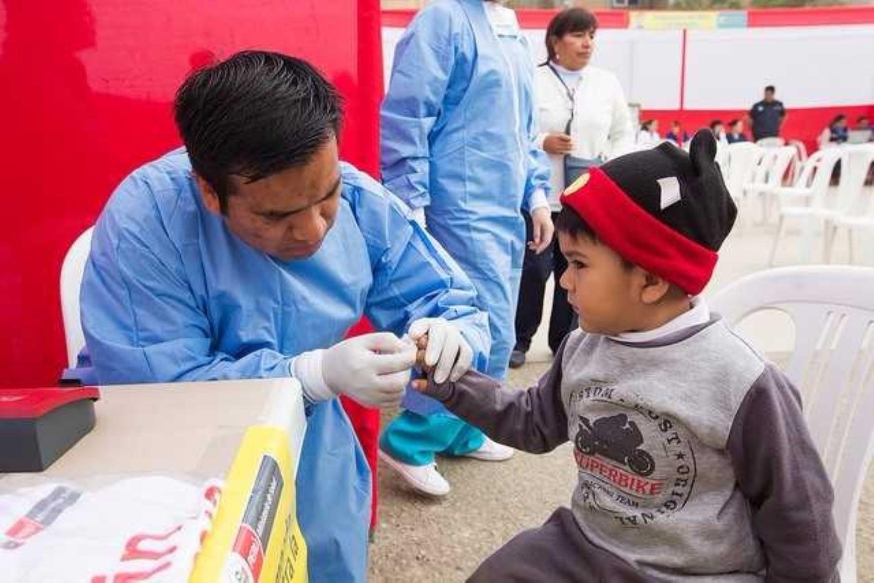 Anemia infantil, uno de los más grandes problemas de salud en Lima. Foto: ANDINA/Difusión