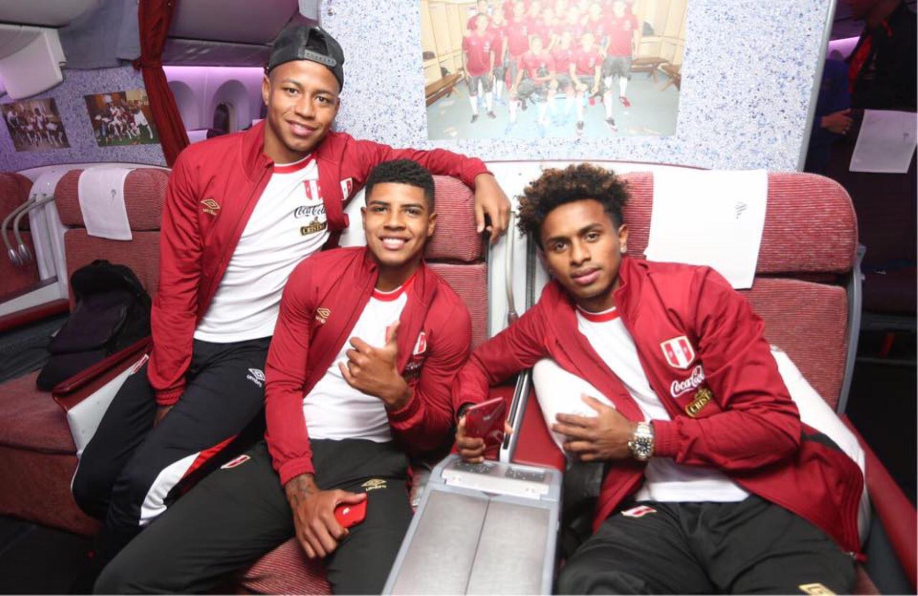Selección peruana Foto: FPF