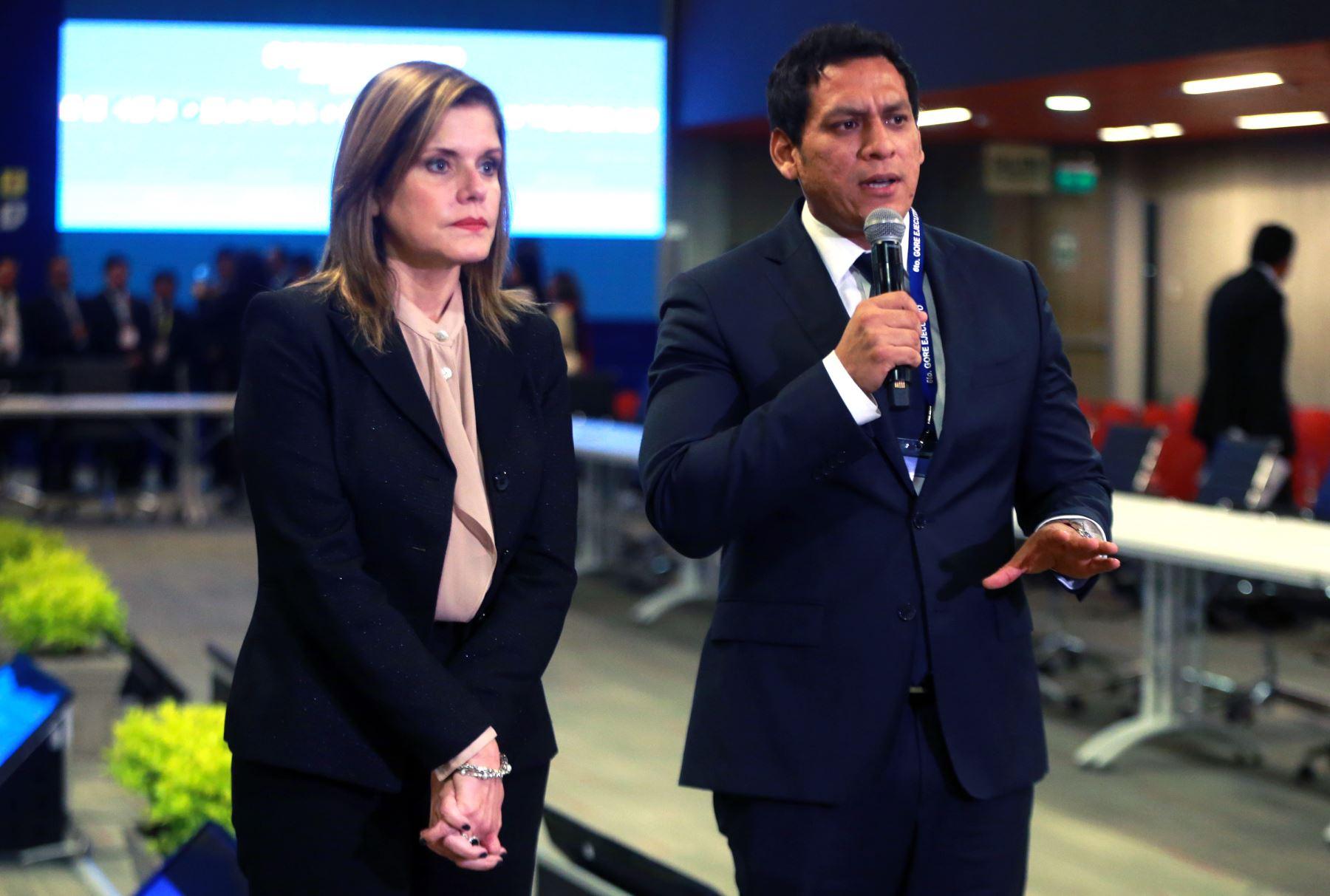 Inauguración de 6to Gore Ejecutivo ANDINA/Vidal Tarqui
