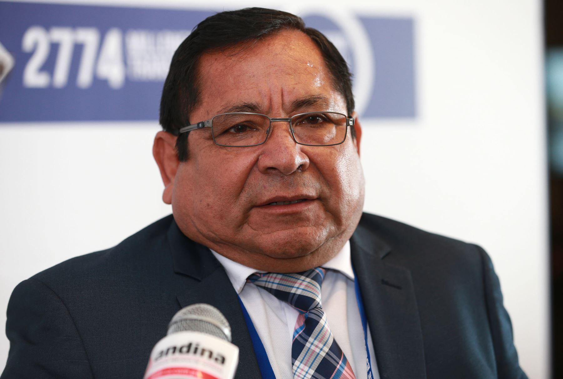 Gobernador regional de Áncash, Luis Gamarra, prioriza obras en infraestructura de agua y saneamiento; viales y agropecuaria, ANDINA/Norman Córdova