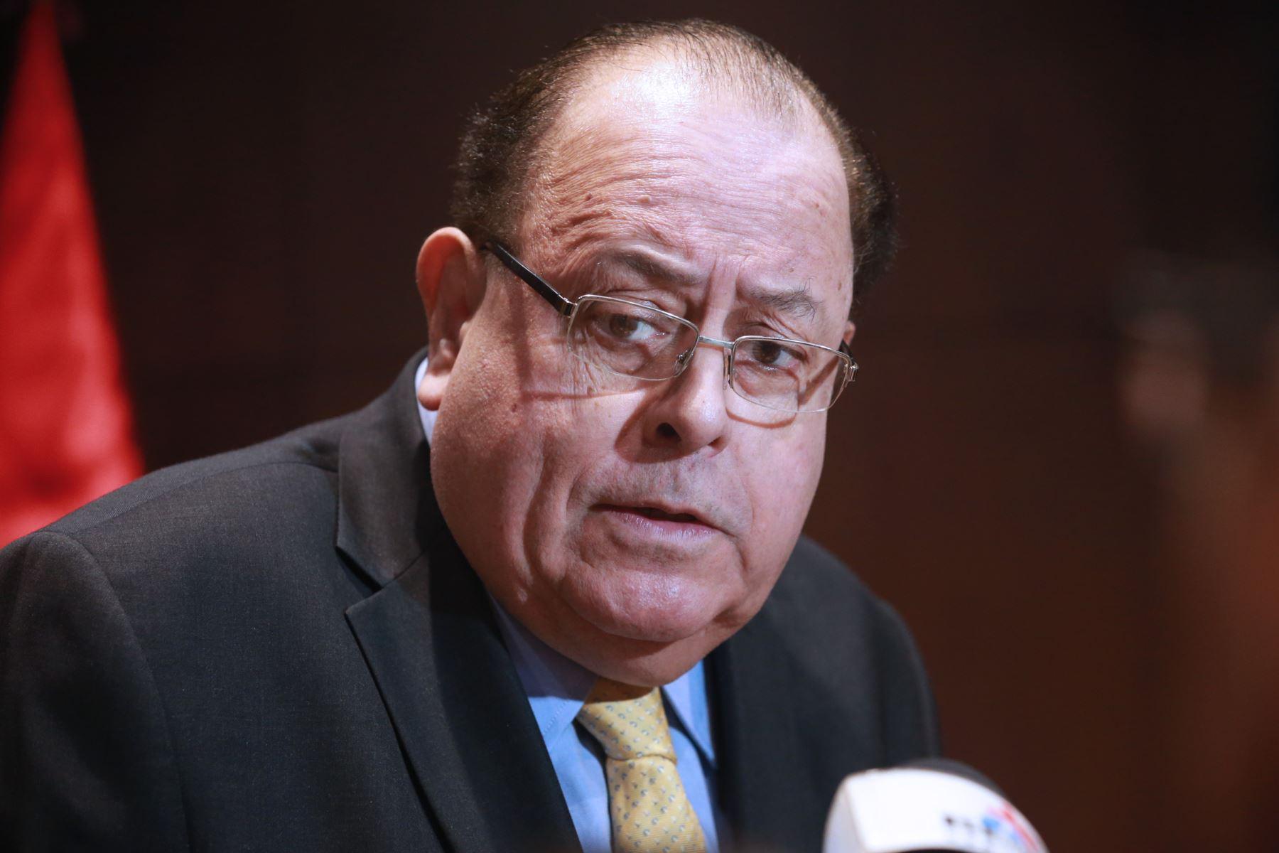 Presidente del BCR, Julio Velarde. ANDINA/Norman Córdova
