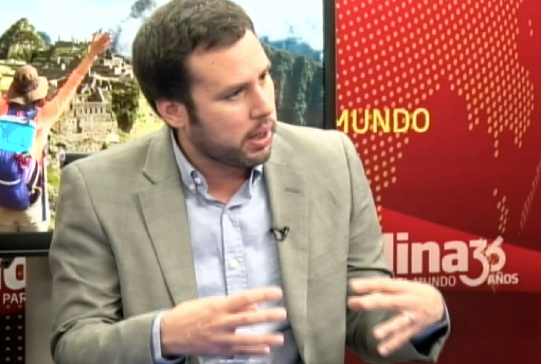 Economista Diego Macera. Foto: ANDINA