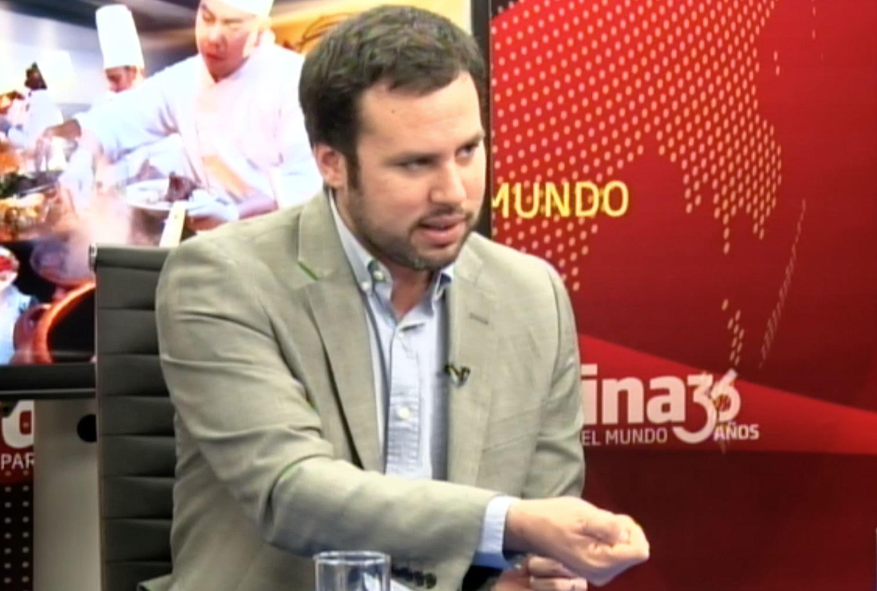 Gerente de Instituto Peruano de Economía, Diego Macera ANDINA