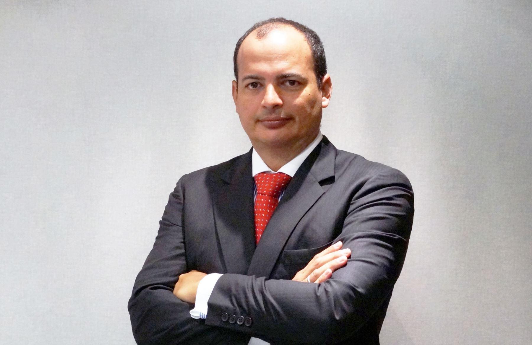 Gerente general de Credicorp Capital Fondos, Arturo Morán. Foto: Cortesía.