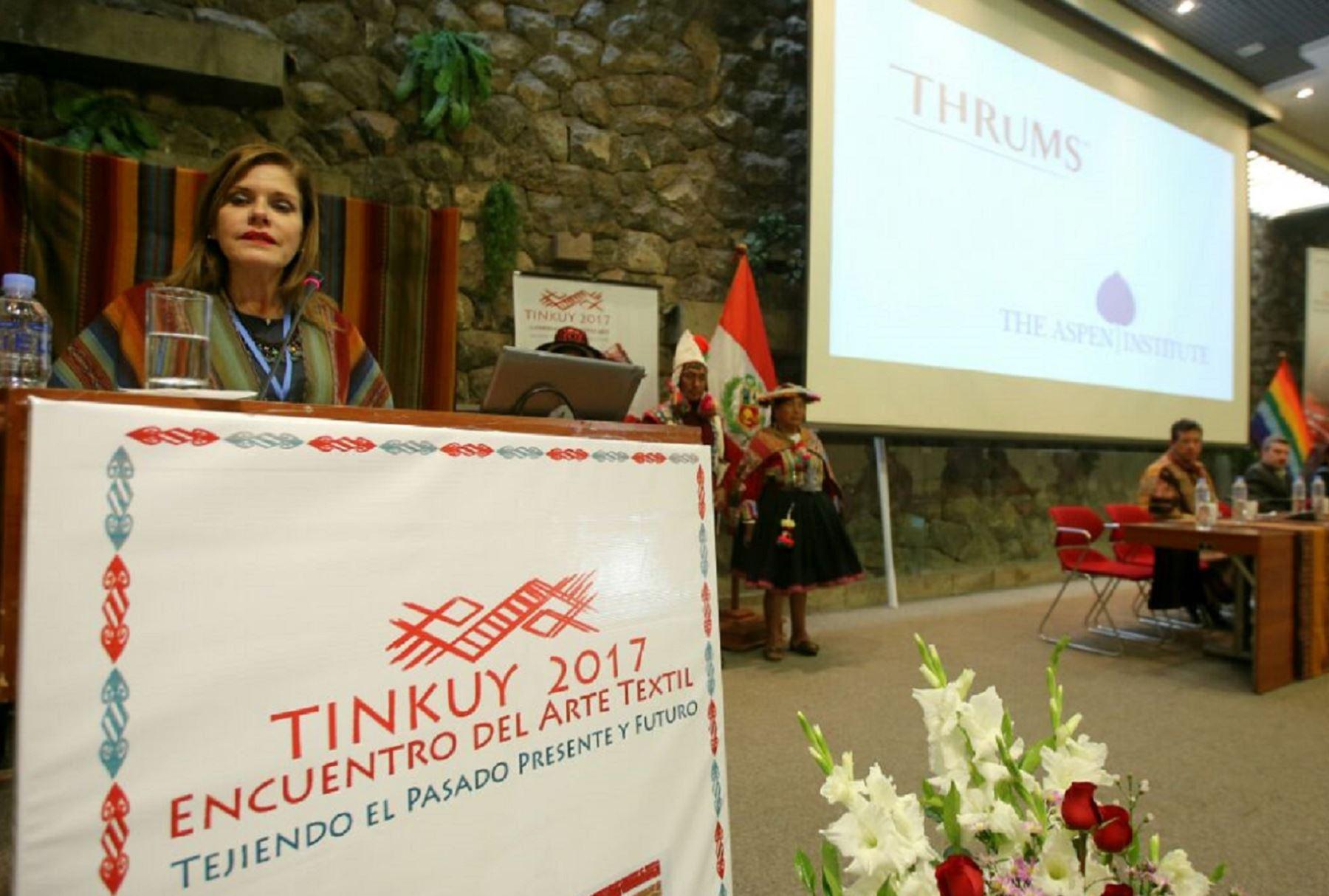 Presidenta del Consejo de Ministros, Mercedes Araóz.  Foto: Cortesía.