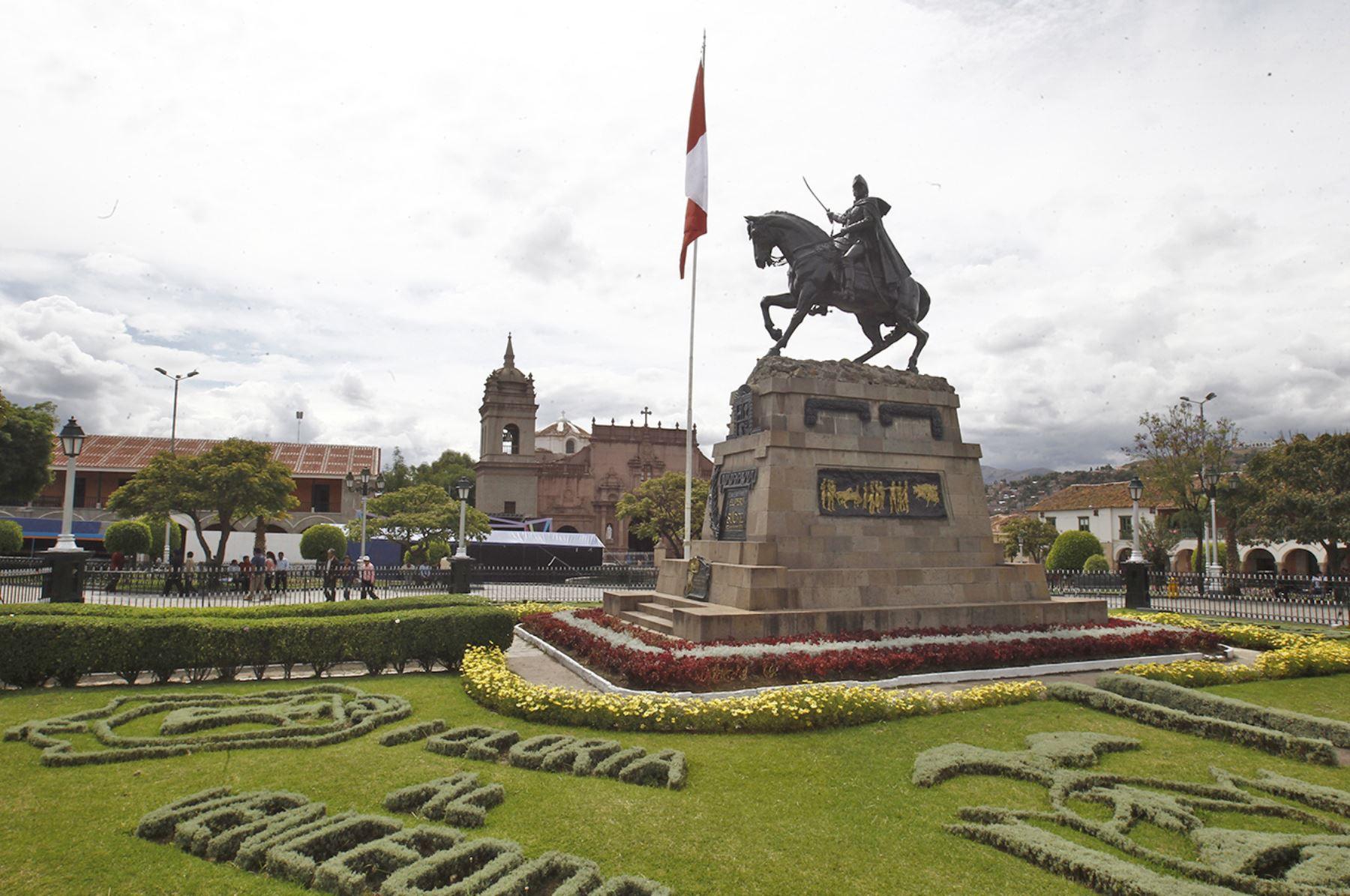 Ceremonia de lanzamiento de la Agenda Bicentenario se realizará en la Plaza Mayor de Ayacucho. ANDINA/Difusión