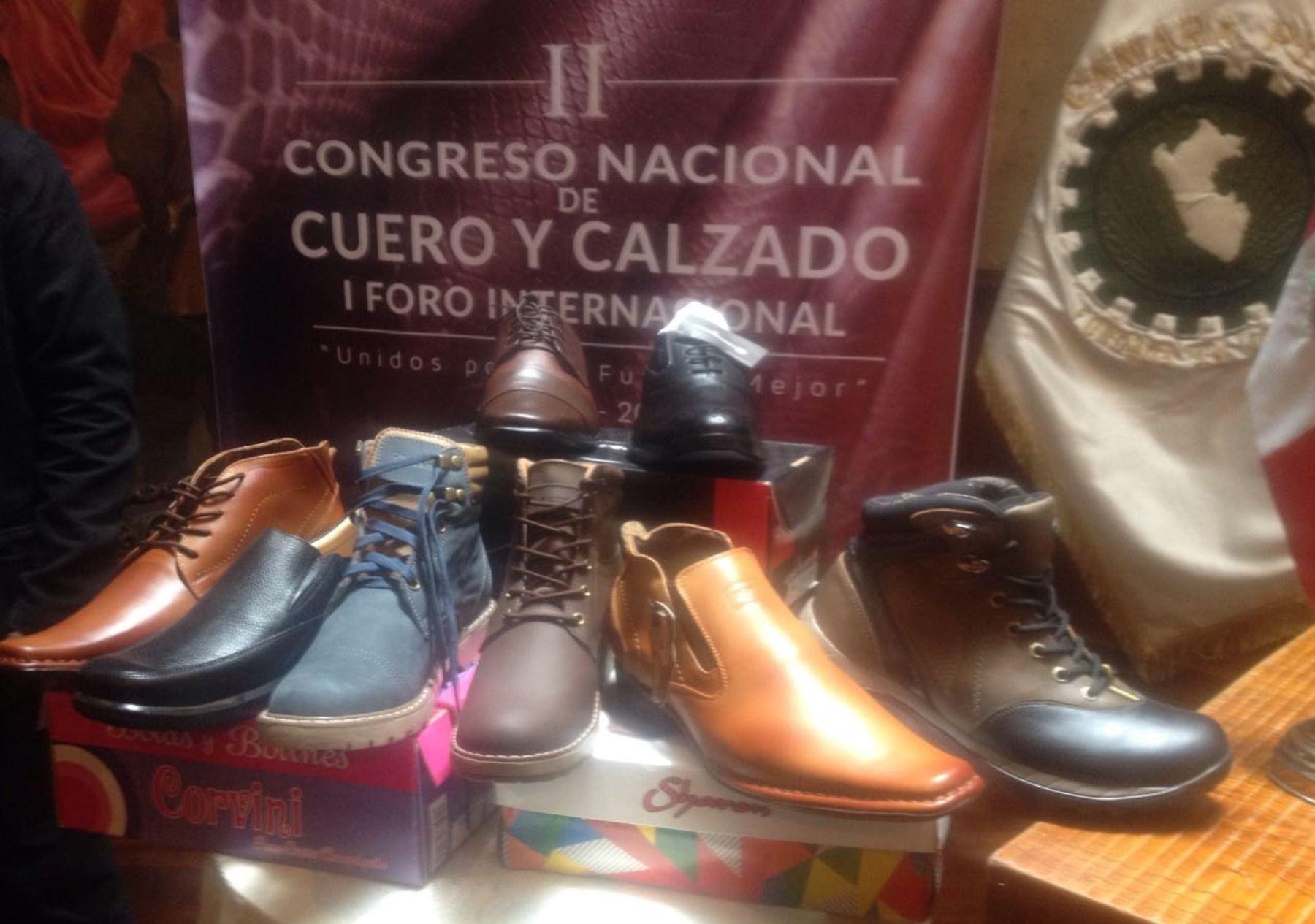 Arequipa organiza rueda de negocios para productores de calzado. ANDINA