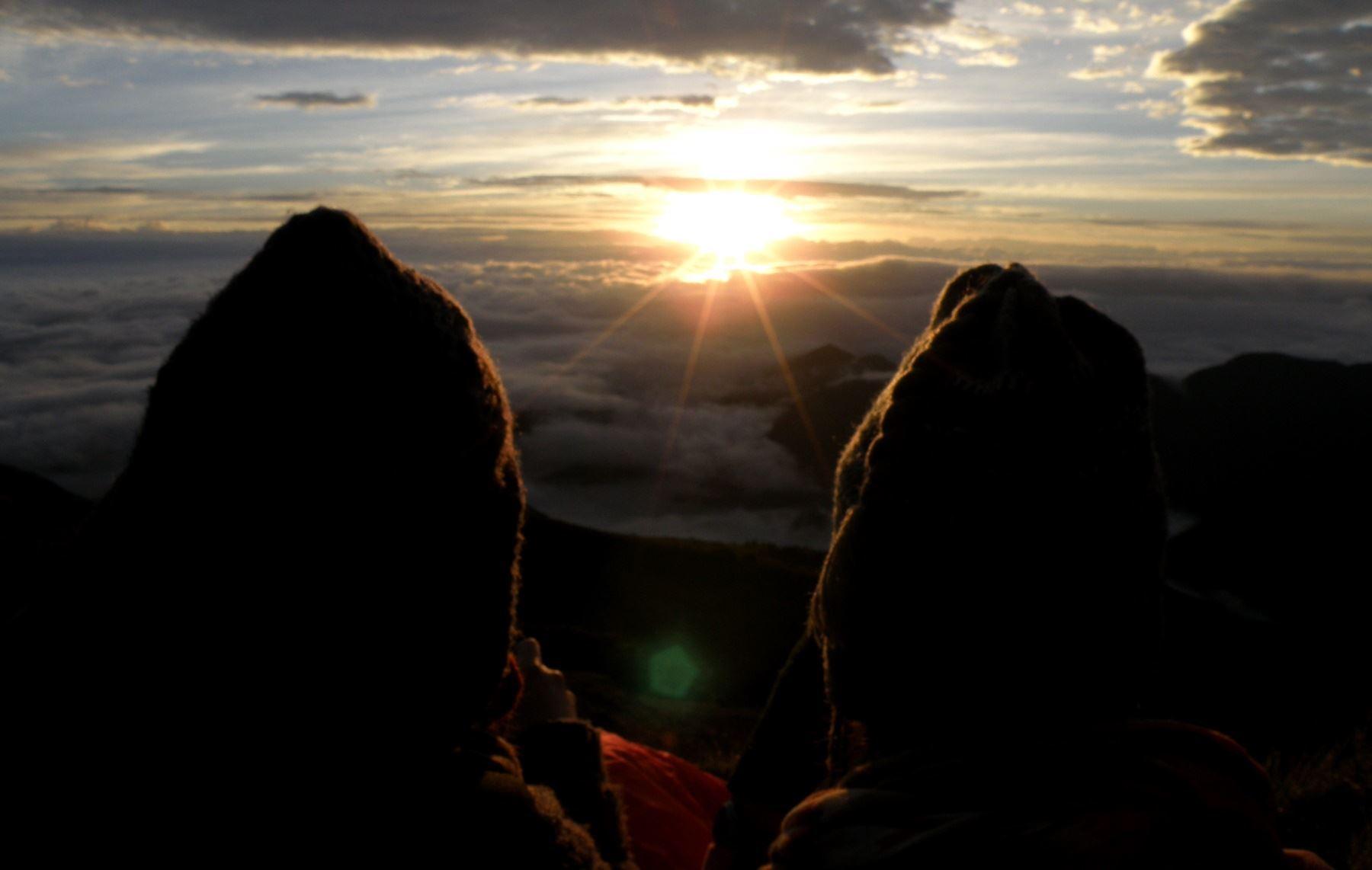 El mirador Tres Cruces, ubicado en la provincia de Paucartambo, es un nuevo destino turístico que ofrece Cusco. ANDINA/Percy Hurtado Santillán