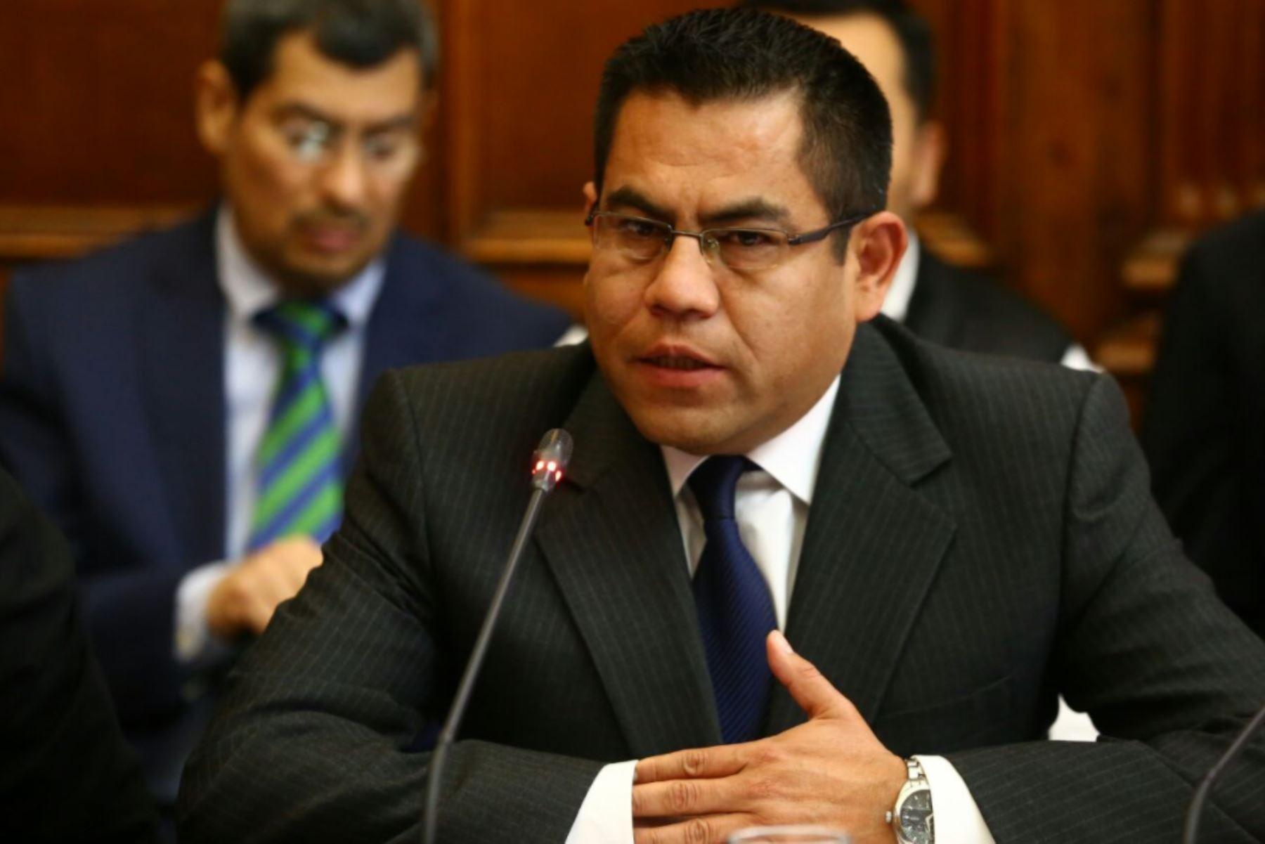 Exgerente de Seguridad Ciudadana de la Municipalidad Metropolitana de Lima Gabriel Prado. Foto: Congreso.