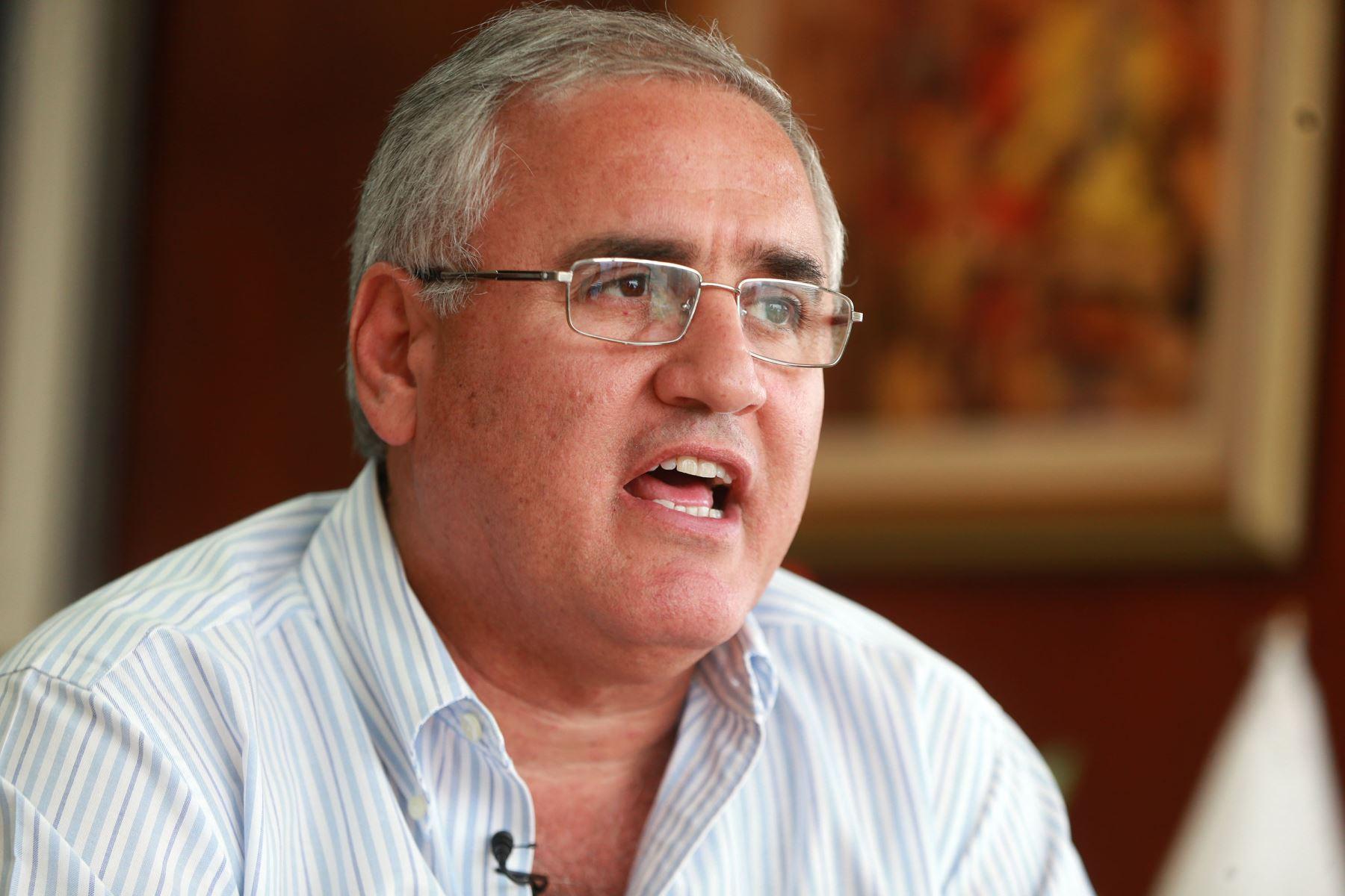 Presidente de Petroperú, Luis García Rosell. ANDINA/Vidal Tarqui