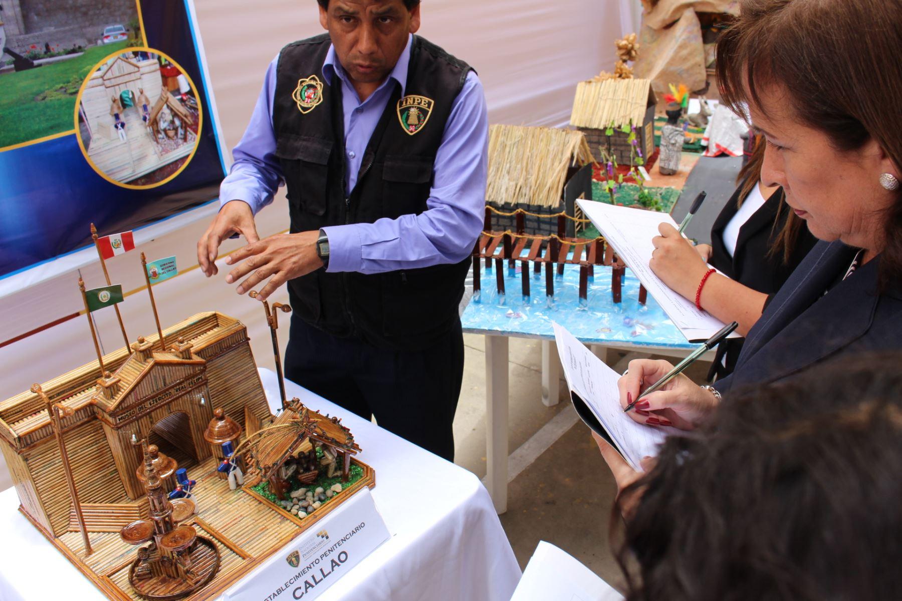 c230fef04e8 Internos de Callao ganan concurso de nacimiento navideño en ...