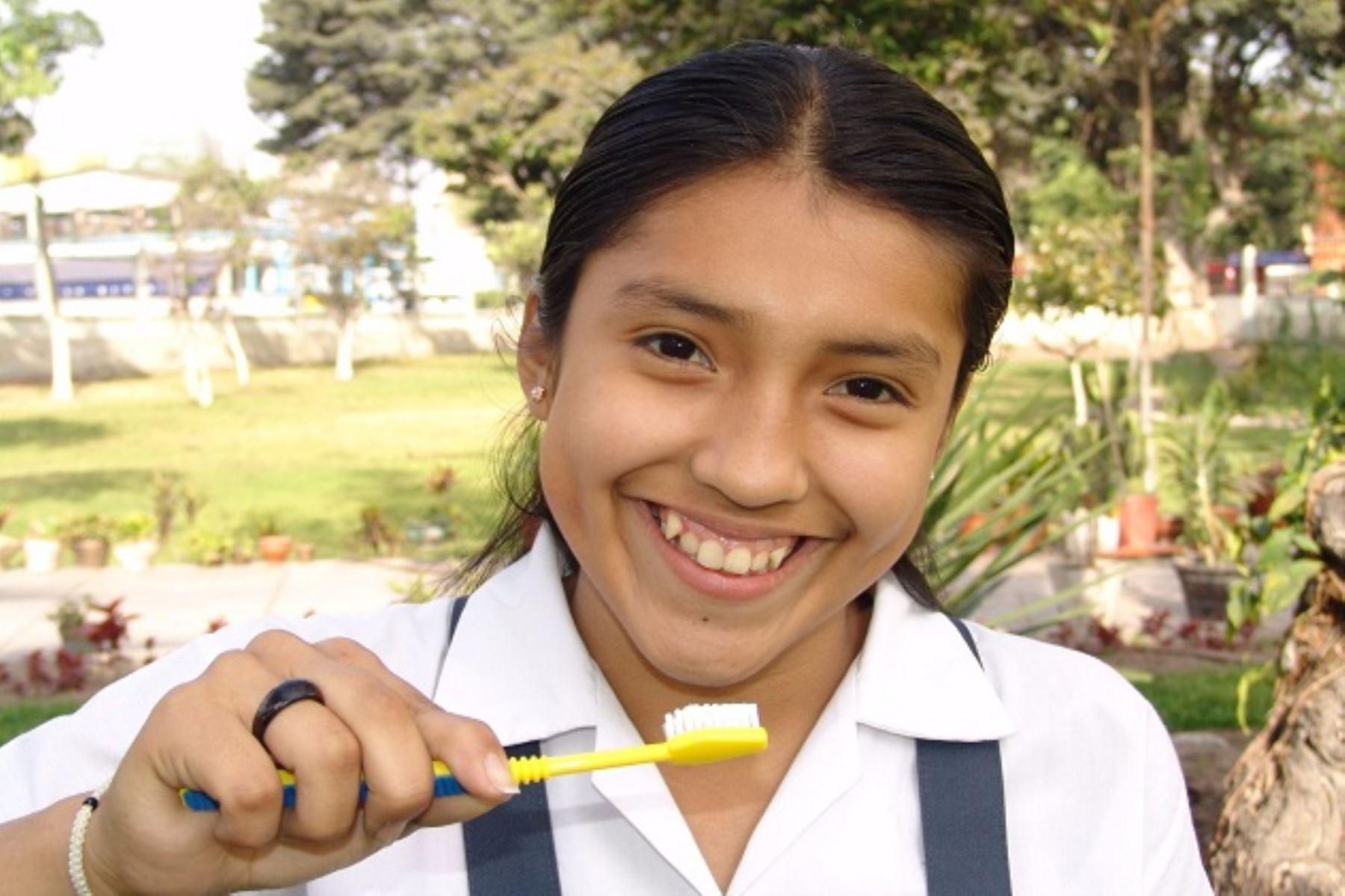 Minsa: 85% de niños menores de 11 años tiene caries dental por inadecuada higiene bucal. Foto: ANDINA/Difusión.