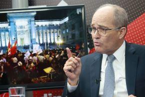 Presidente de la Confiep, Roque Benavides. ANDINA/Norman Córdova