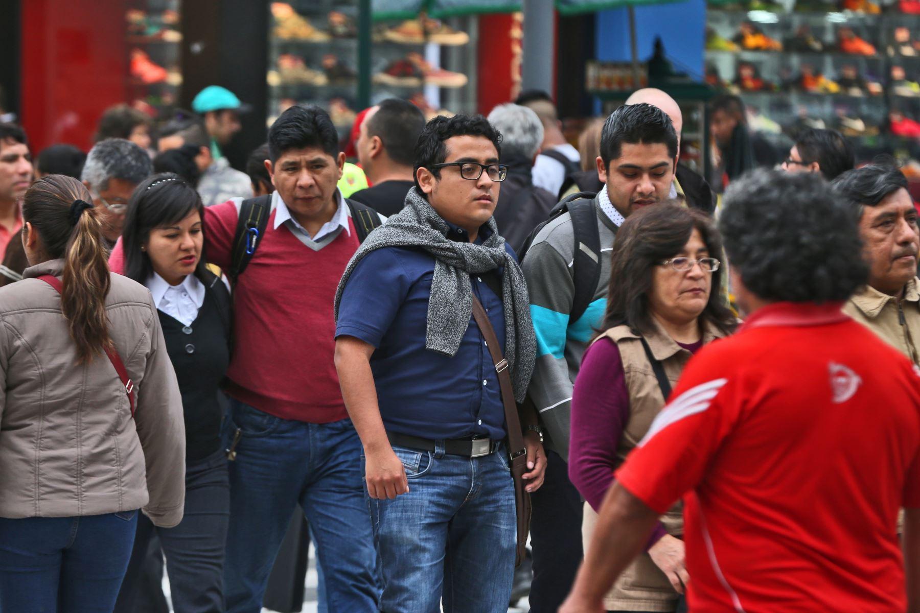 Fuerza laboral peruana. Foto: ANDINA.