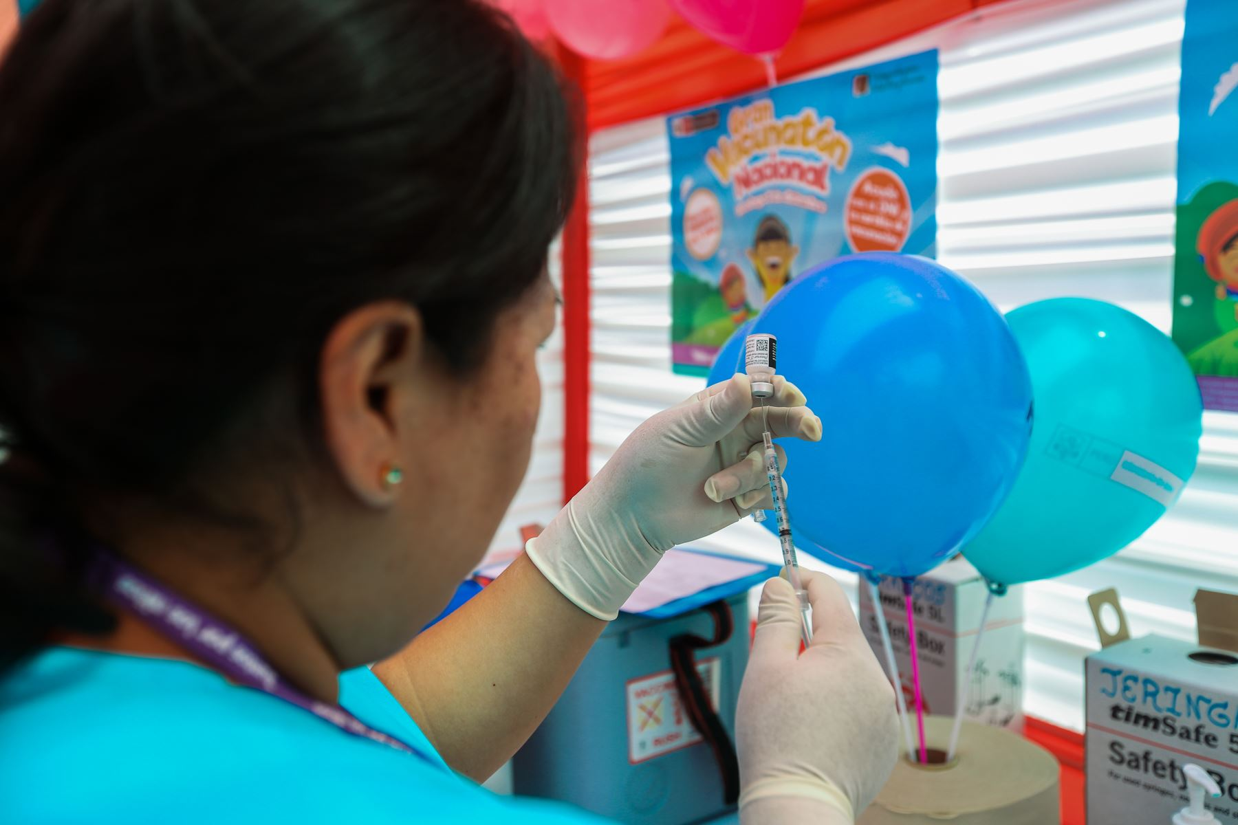 Minsa: hoy se realizará gran campaña de vacunación a menores de 5 años. Foto: ANDINA/Difusión.