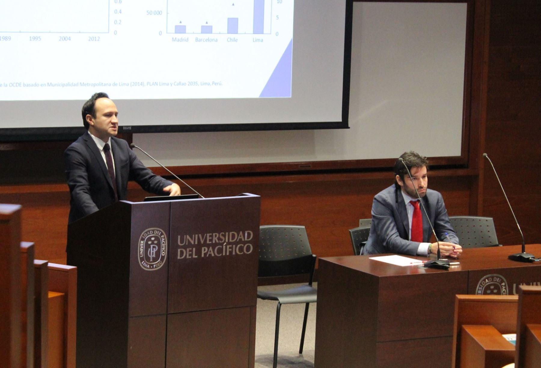 Jefe adjunto América Latina y el Caribe Centro de Desarrollo OCDE, Sebastián Nieto Parra. Foto: Cortesía.