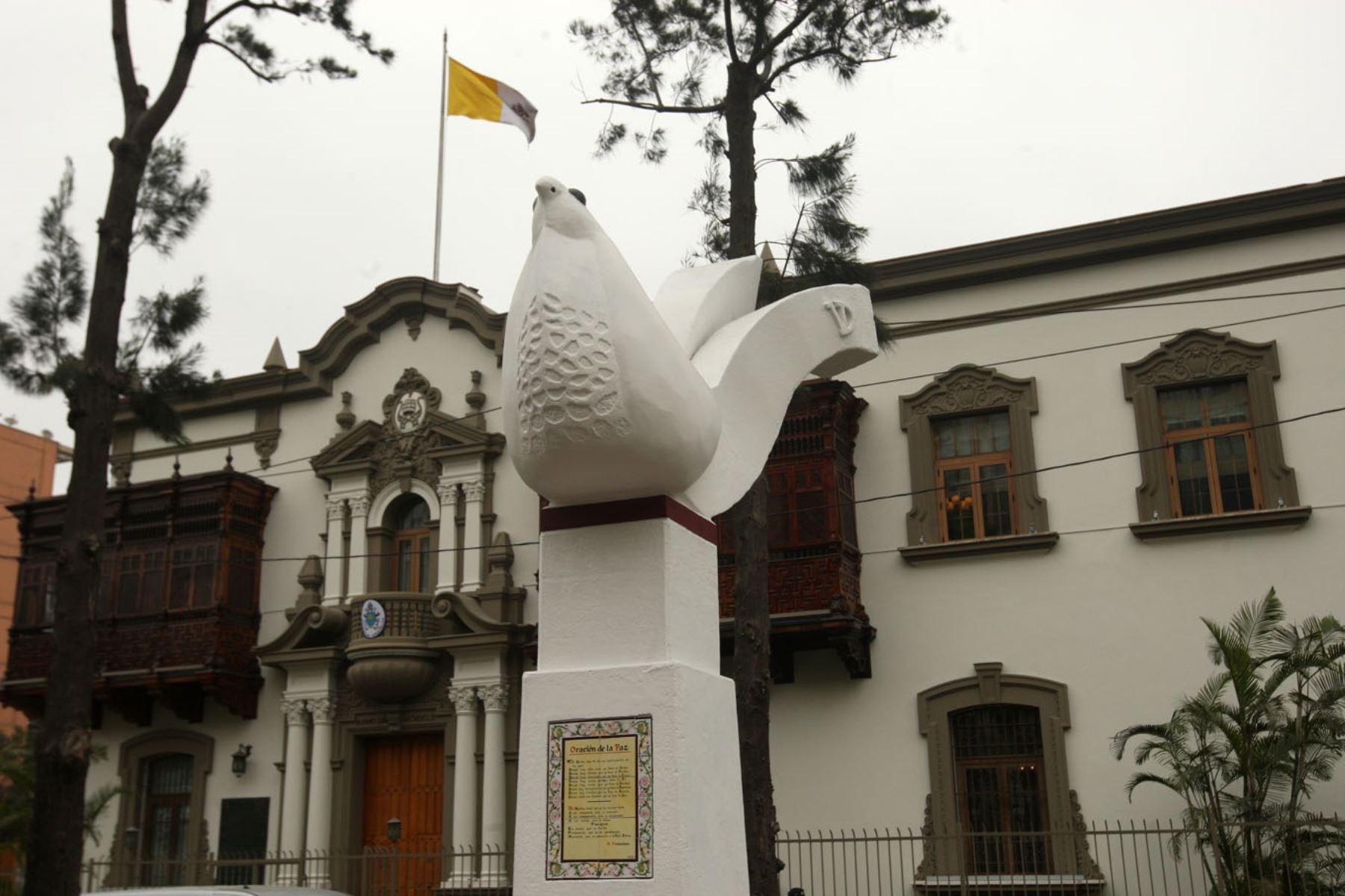 Nunciatura Apostólica de Lima. Foto: ANDINA/Héctor Vinces.