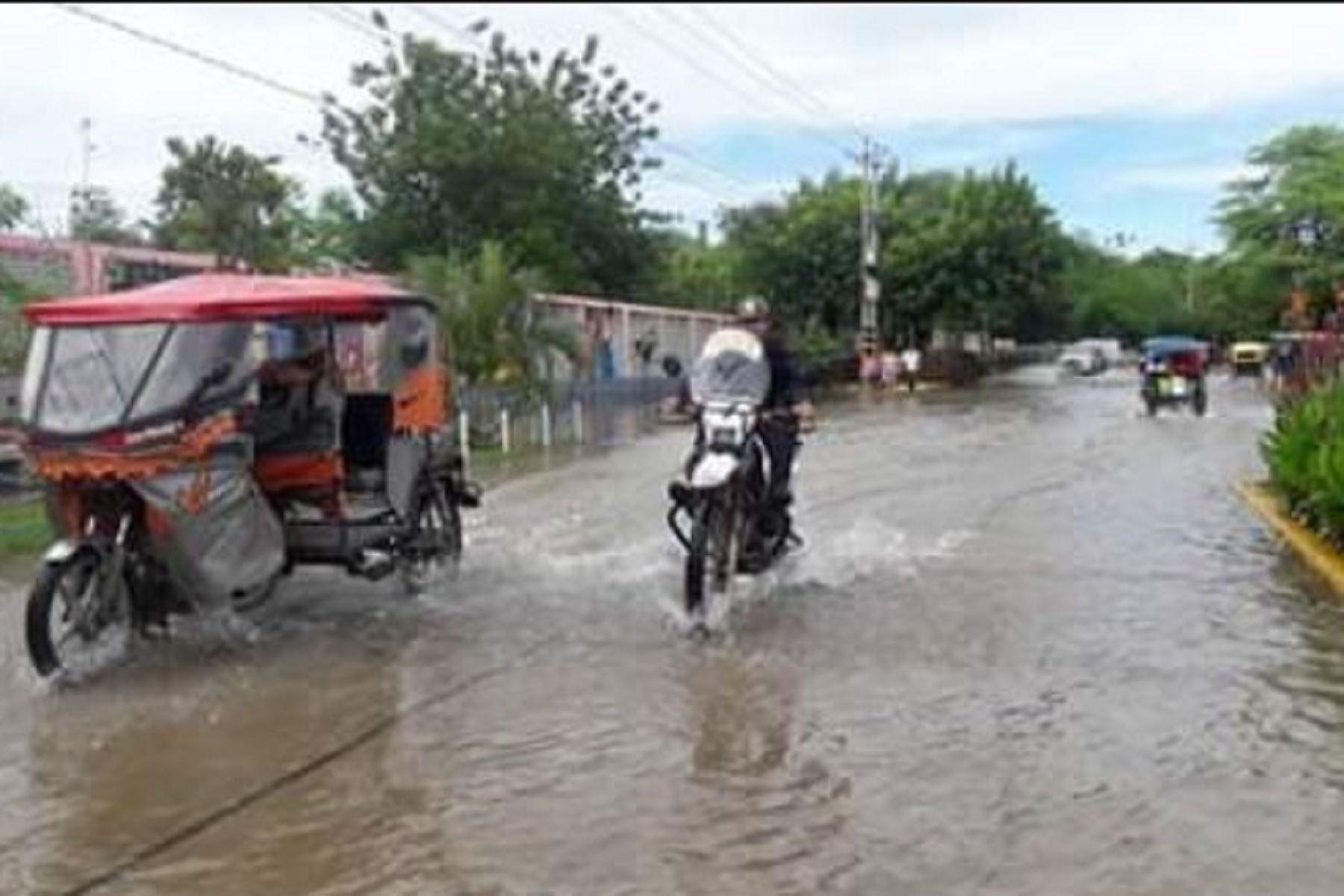 LLuvias afectarían las regiones de Huánuco, Loreto, San Martín, Pasco, Junín, Ucayali, Cusco y Madre de Dios.