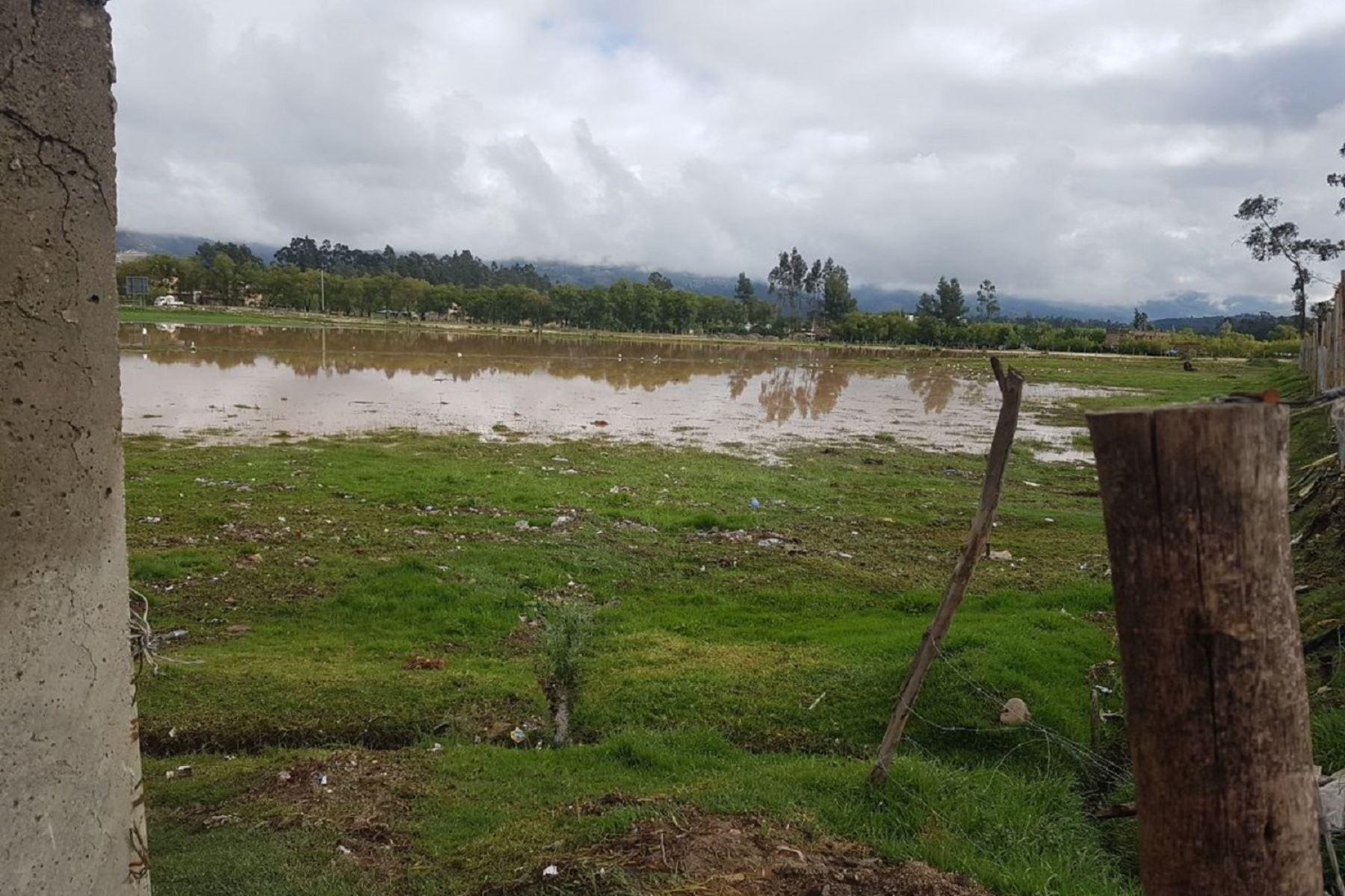 Al menos 100 viviendas afectadas por las lluvias torrenciales en Cajamarca. Foto: Twitter/COEN