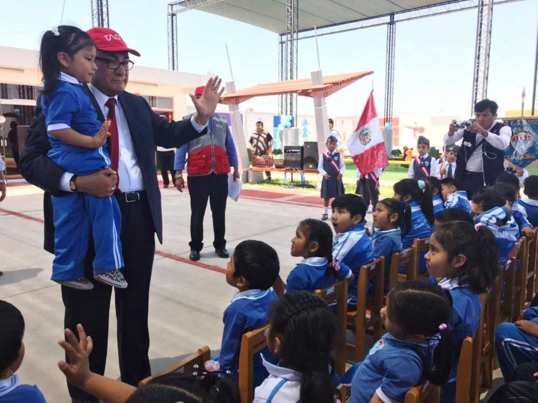 Ministro Idel Vexler en la ciudad de Tacna