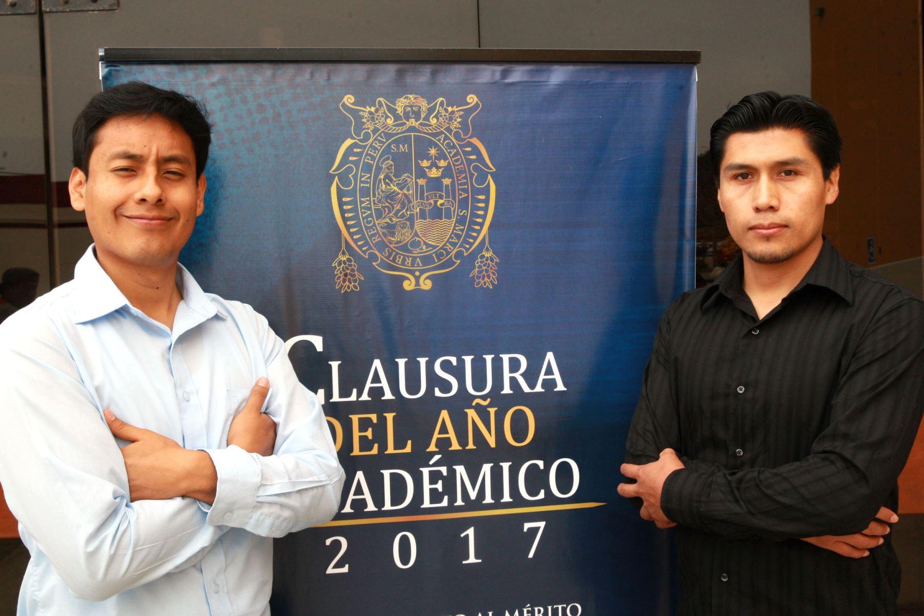 Universidad San Marcos reconoció a equipo que ganó concurso internacional de History Channel. Foto: ANDINA/Dante Zegarra