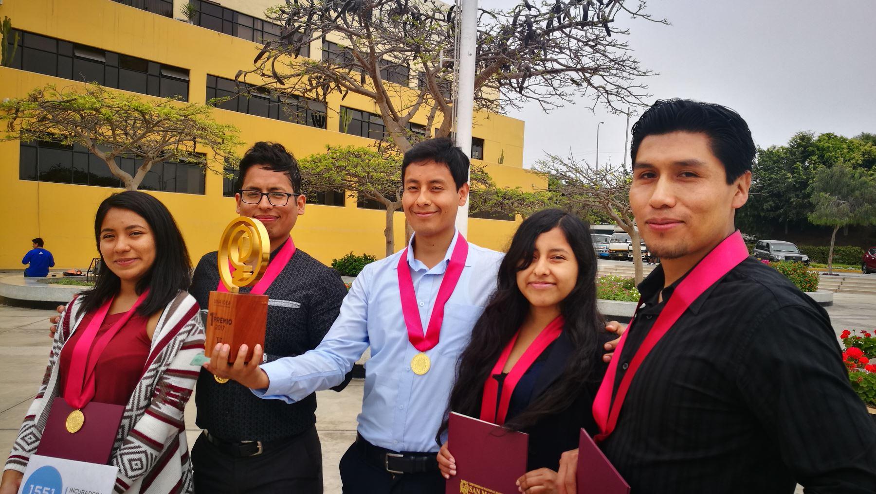 Universidad San Marcos reconoció a equipo que ganó concurso internacional de History Channel. Foto: Susana Mendoza
