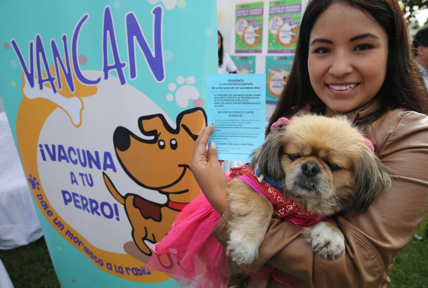 Resultado de imagen para ministerio de salud vacunacion para perros