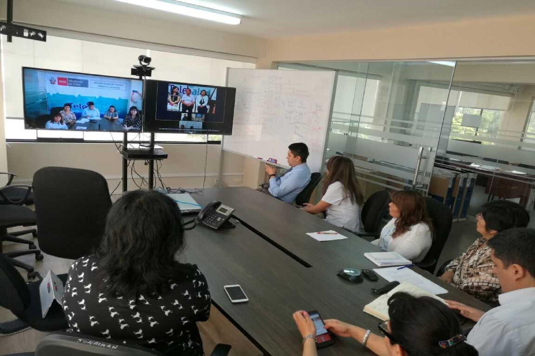 Minsa proyecta brindar 7,200 atenciones en Telemedicina el 2018. ANDINA/Difusión