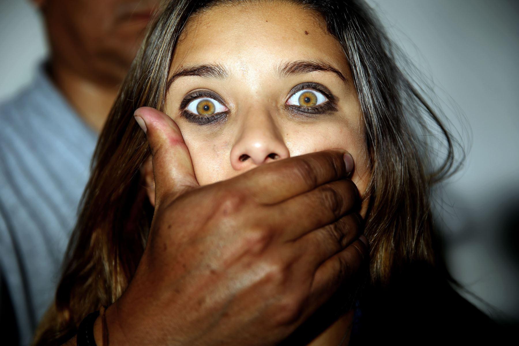 Hoy es el día central del mes de la lucha contra la trata de personas. ANDINA/Luis Iparraguirre