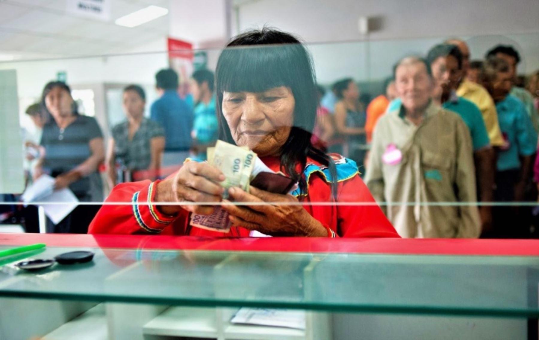 Inclusión financiera. Foto: ANDINA/Difusión