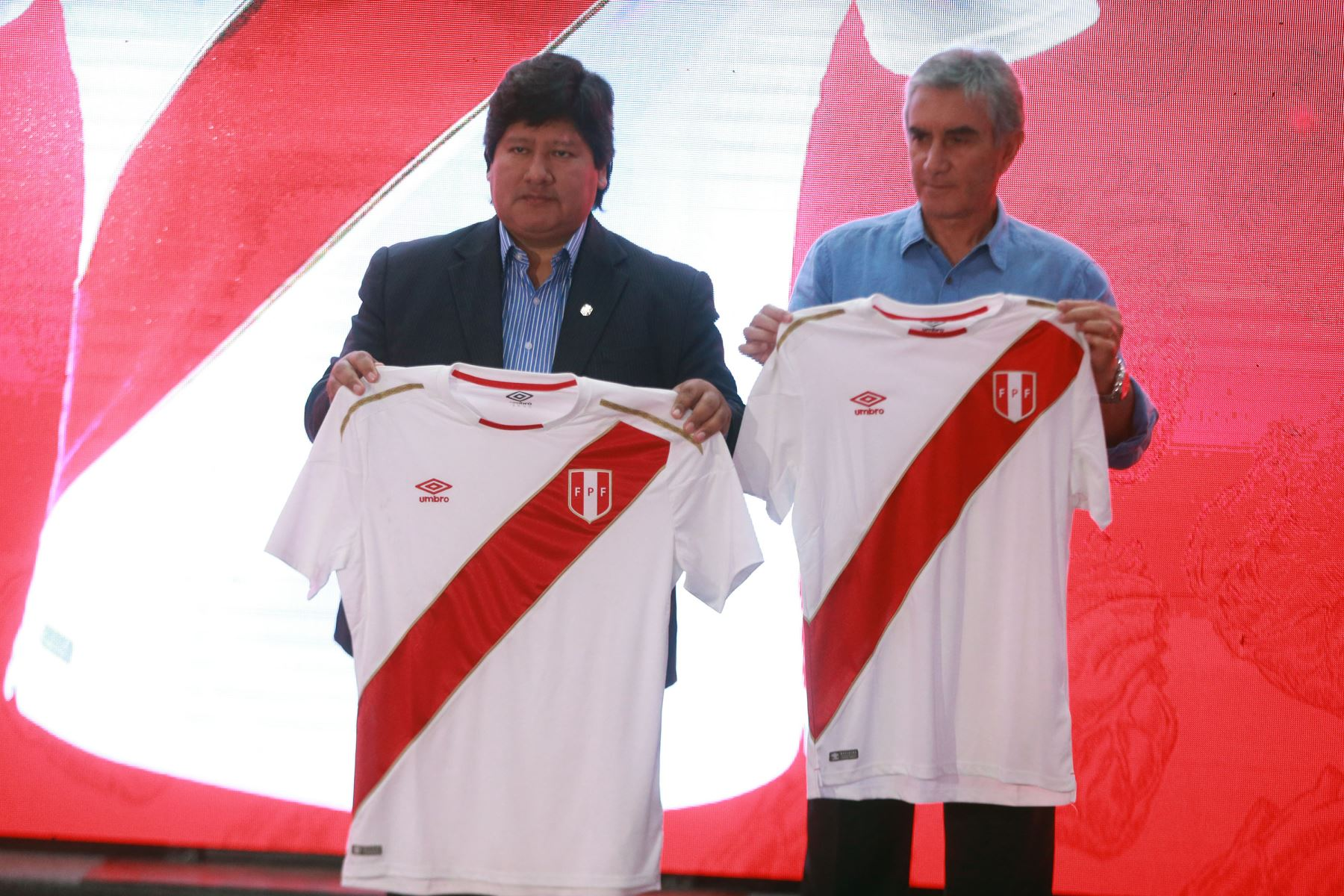 f9bcfd40d29 Peru releases new jersey for 2018 World Cup