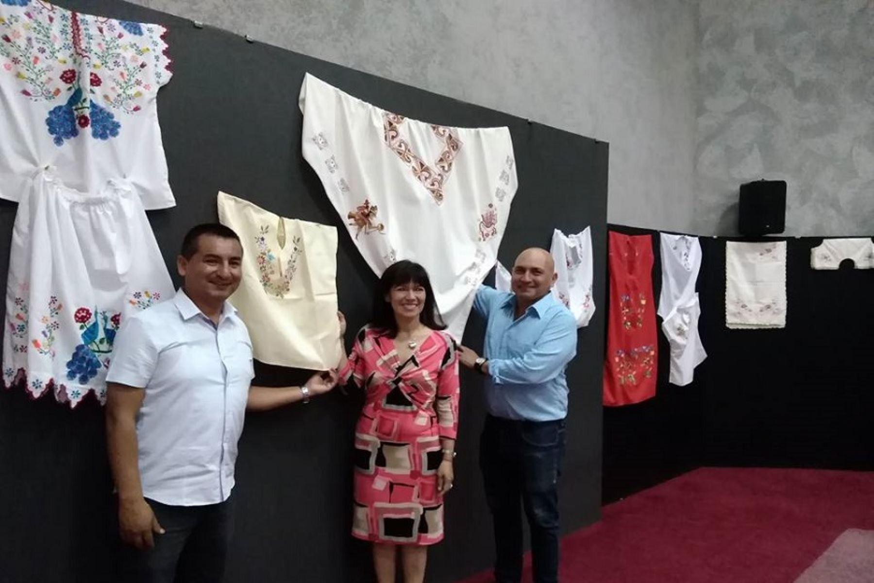 Artesanas de Lambayeque presentan nuevos productos artesanales innovadores. ANDINA