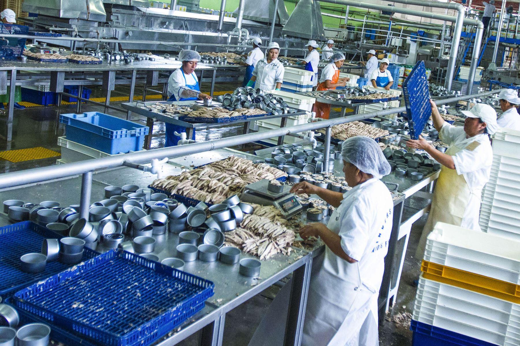 Sector manufactura. ANDINA/Difusión