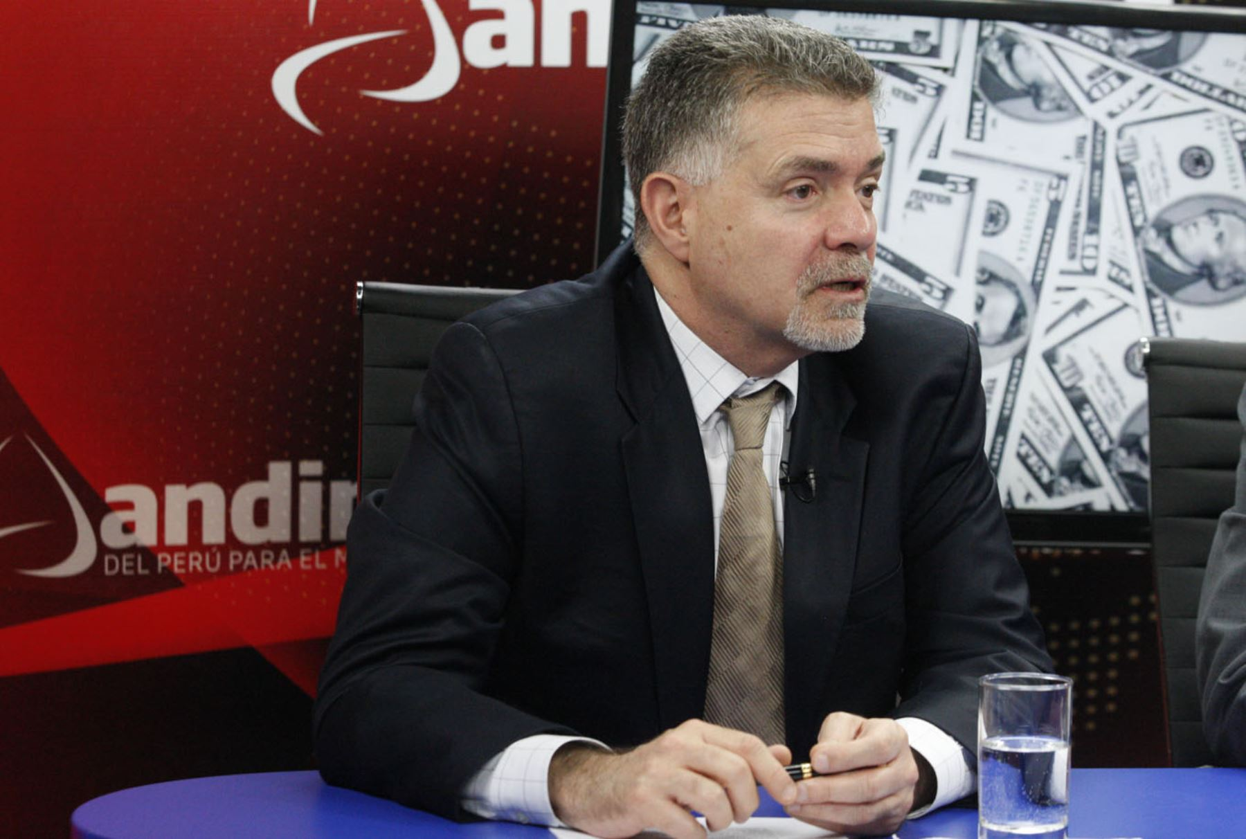 Superintendente del Mercado de Valores, José Manuel Peschiera. ANDINA/Eddy Ramos