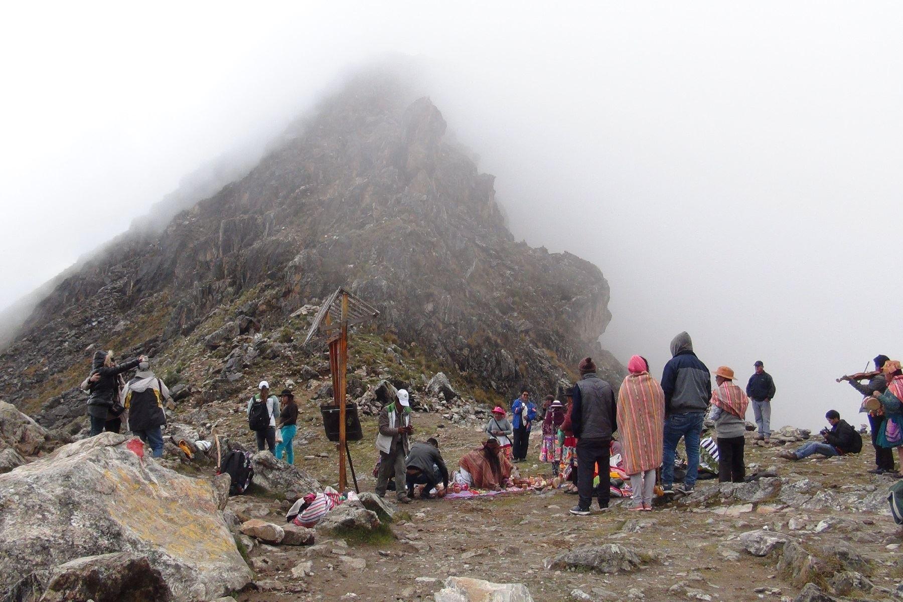 Disminuye en un 80% la contaminación en Área de Conservación Regional Huaytapallana, en Junín. ANDINA/Pedro Tinoco