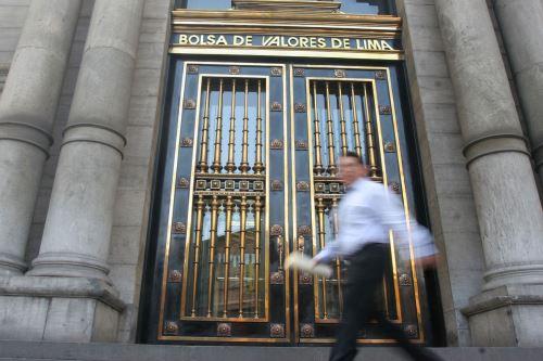 Bolsa de Valores de Lima. ANDINA