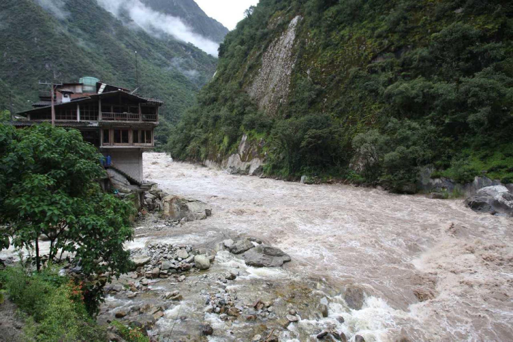 Esta mañana el río Vilcanota alcanzó  279.53 metros cúbicos por segundo. Foto:  ANDINA/Difusión.