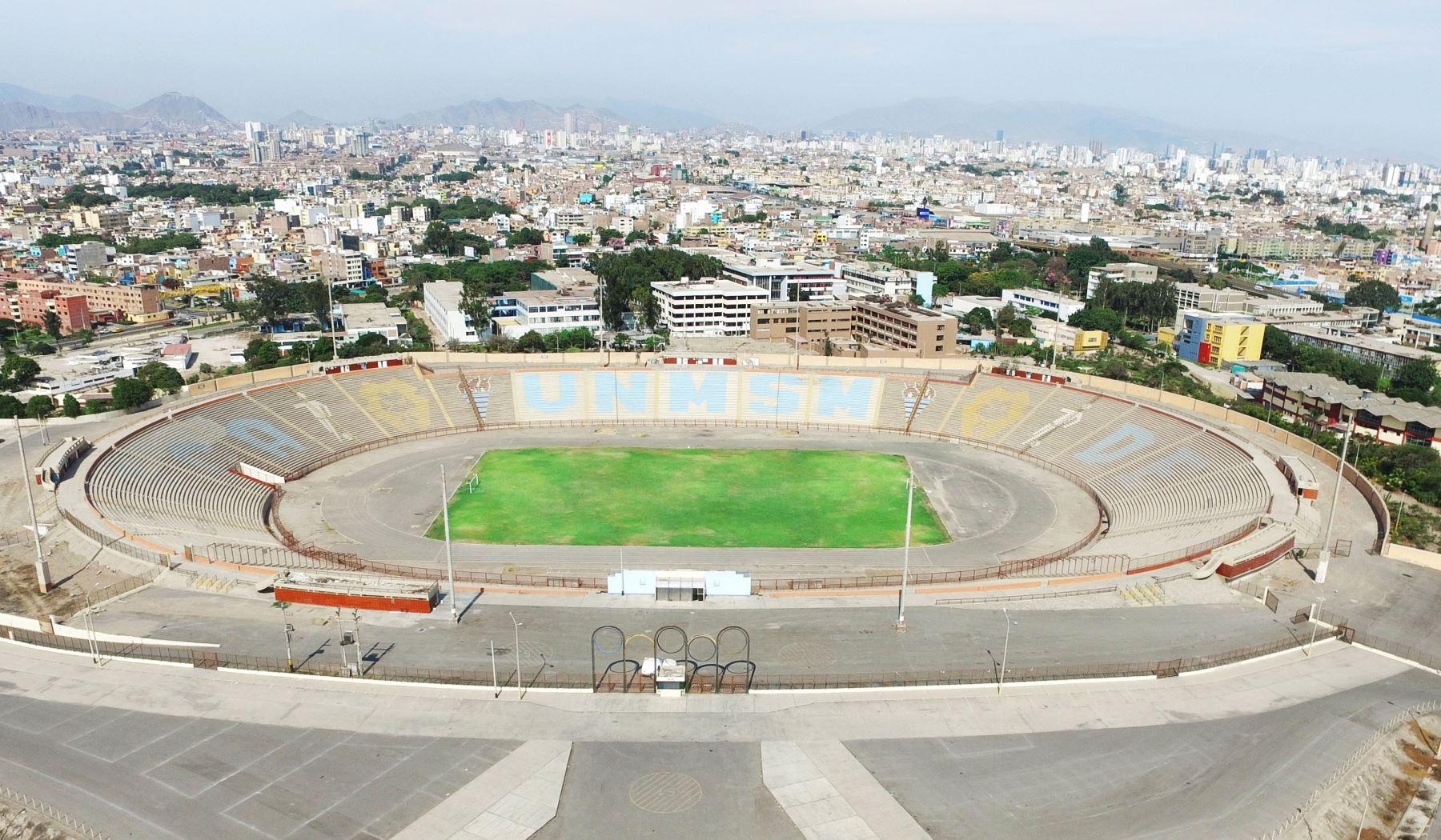 El estadio de la Universidad Nacional Mayor de San Marcos será remodelado