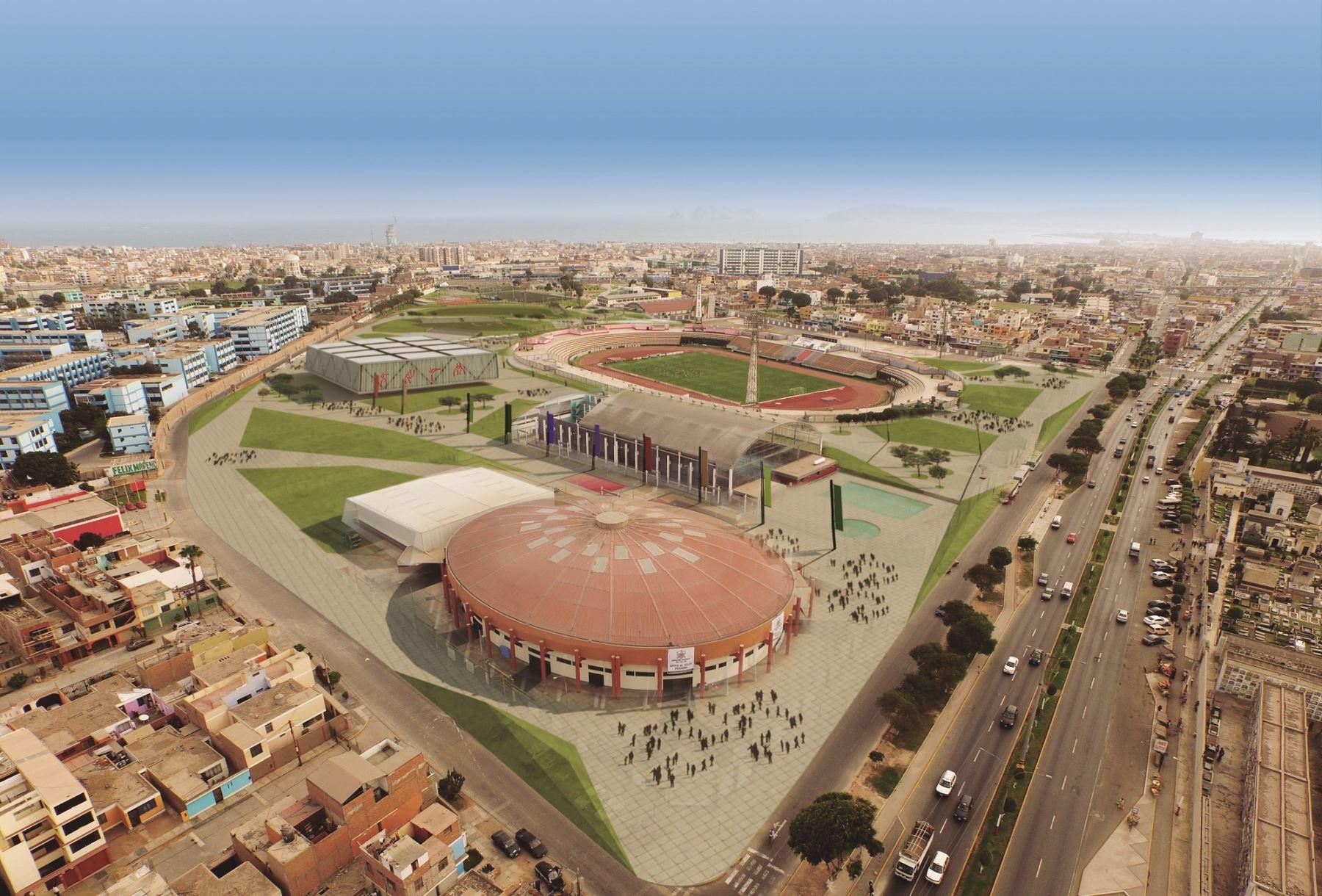 La Villa Deportiva del Callao se encuentra en proceso de adjudicación.