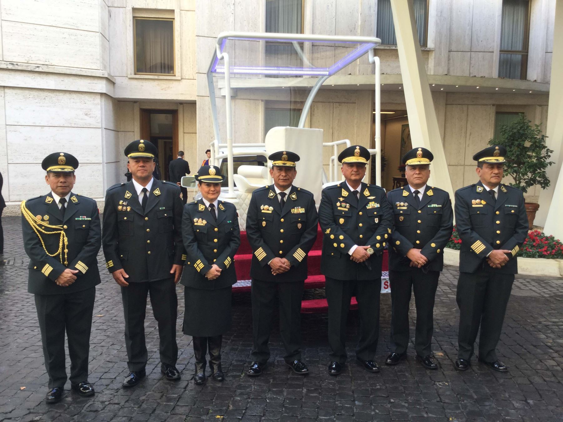 PNP ofrecerá seguridad durante visita de Papa Francisco al Perú del 18 al 21 de enero.