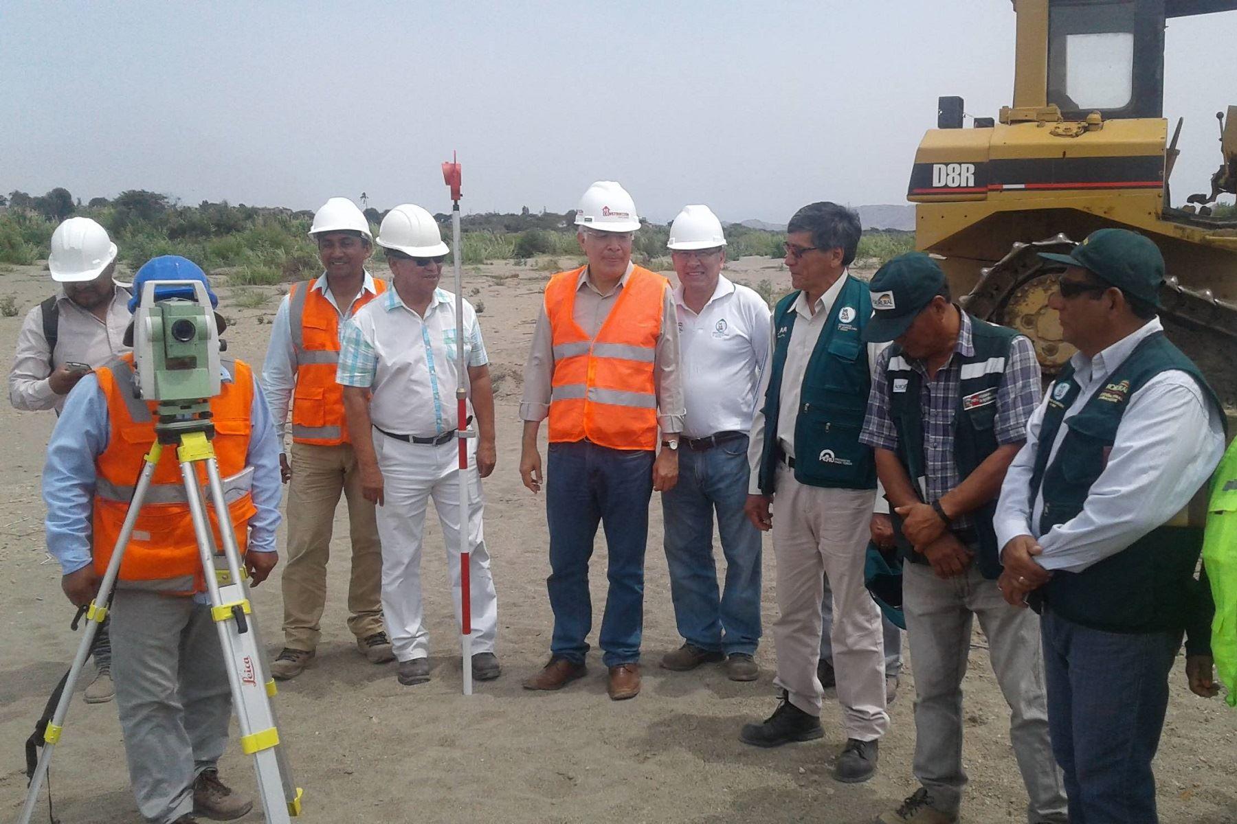 Descolmatarán 37 km del río Chancay-Lambayeque, en Lambayeque. ANDINA
