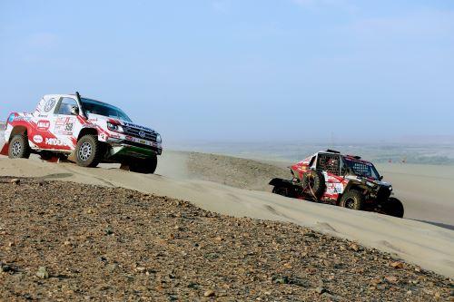 Perú trabaja para que el Dakar 2019 no dañe el patrimonio nacional. ANDINA/Luis Iparraguirre