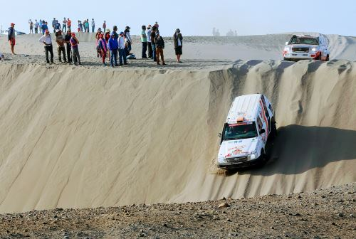 Rally Dakar 2019: MTC restringirá circulación de vehículos por vías en 5 regiones. ANDINA/Luis Iparraguirre