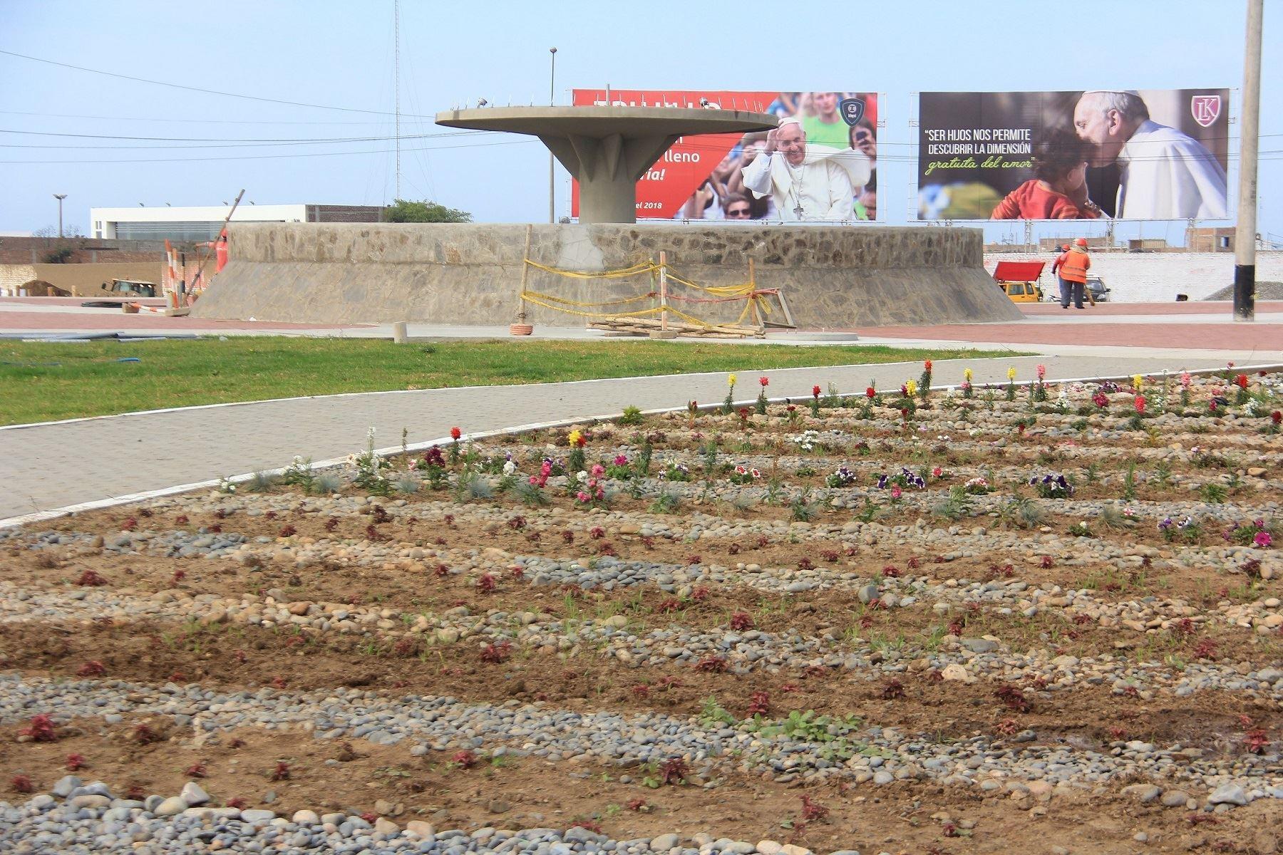 Será feriado en Trujillo y Puerto Maldonado por visita del Papa Francisco. ANDINA/Luis Puell