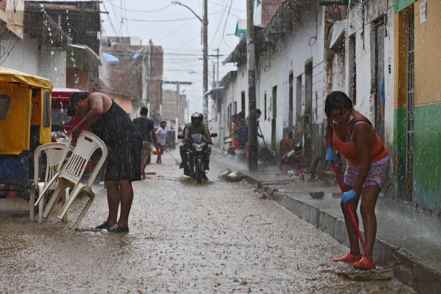 Las provincias de Tumbes y Zarumilla soportarían lluvias de ligera a moderada intensidad desde las 18:00 horas. ANDINA/archivo
