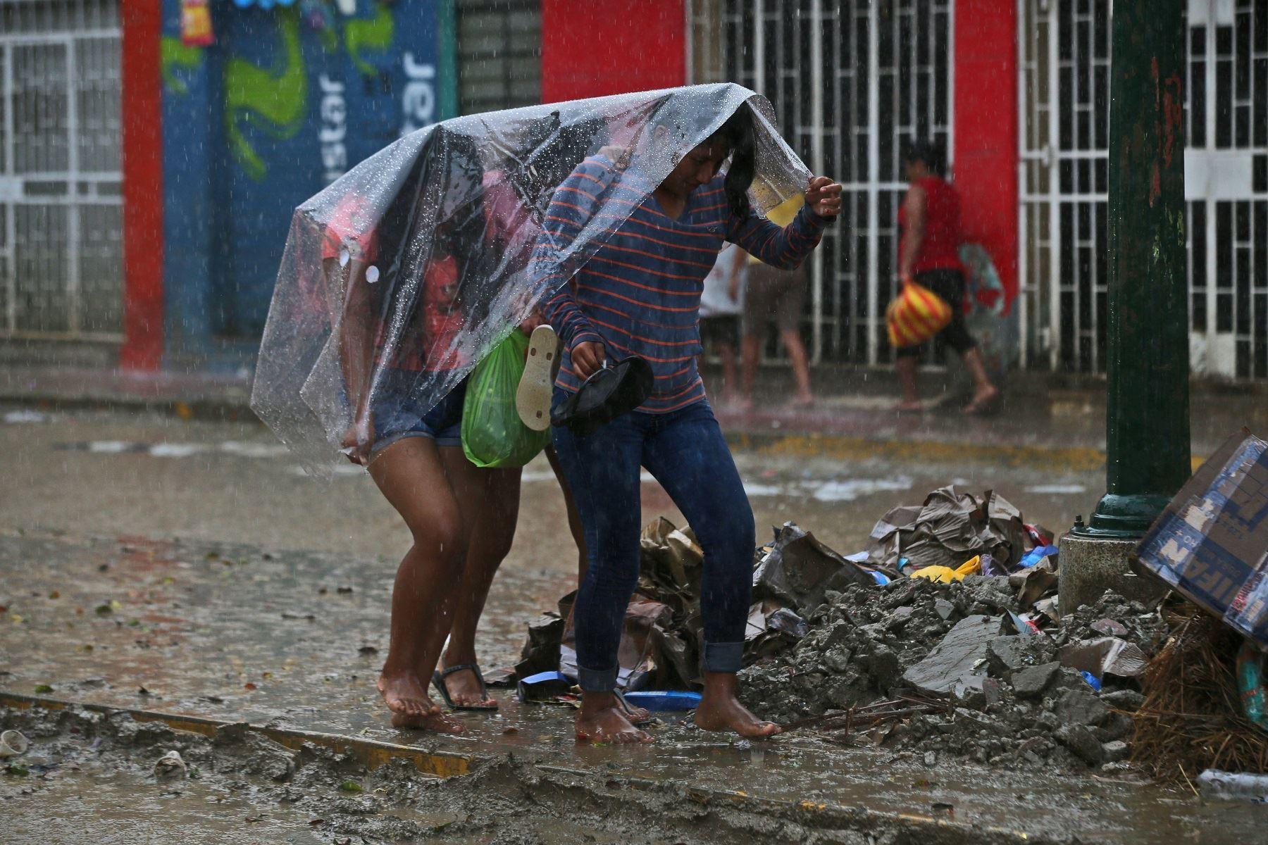 Lluvias intensas soportarán regiones de selva y sierra desde hoy hasta el miércoles. ANDINA/archivo